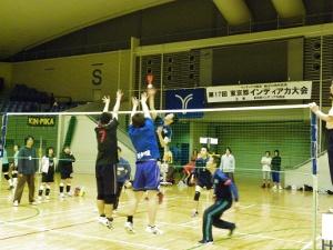 2011年4月23日(土)第17回東京都インディアカ大会